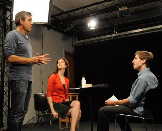 Stephen Gyllenhaal leads a workshop at Yale. (Image courtesy of Bulldog Productions)